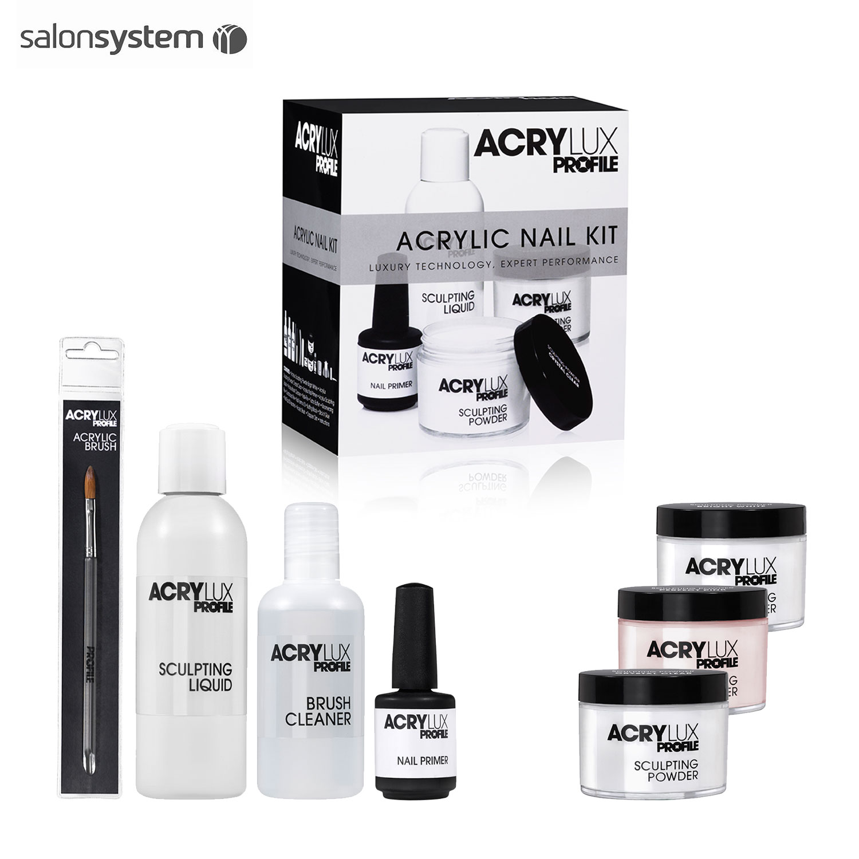 Professional Gel Nail System: Salon System ACRYLUX Profile Acrylic Gel Nail Professional