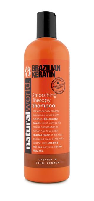 Keratin shampoo for natural hair