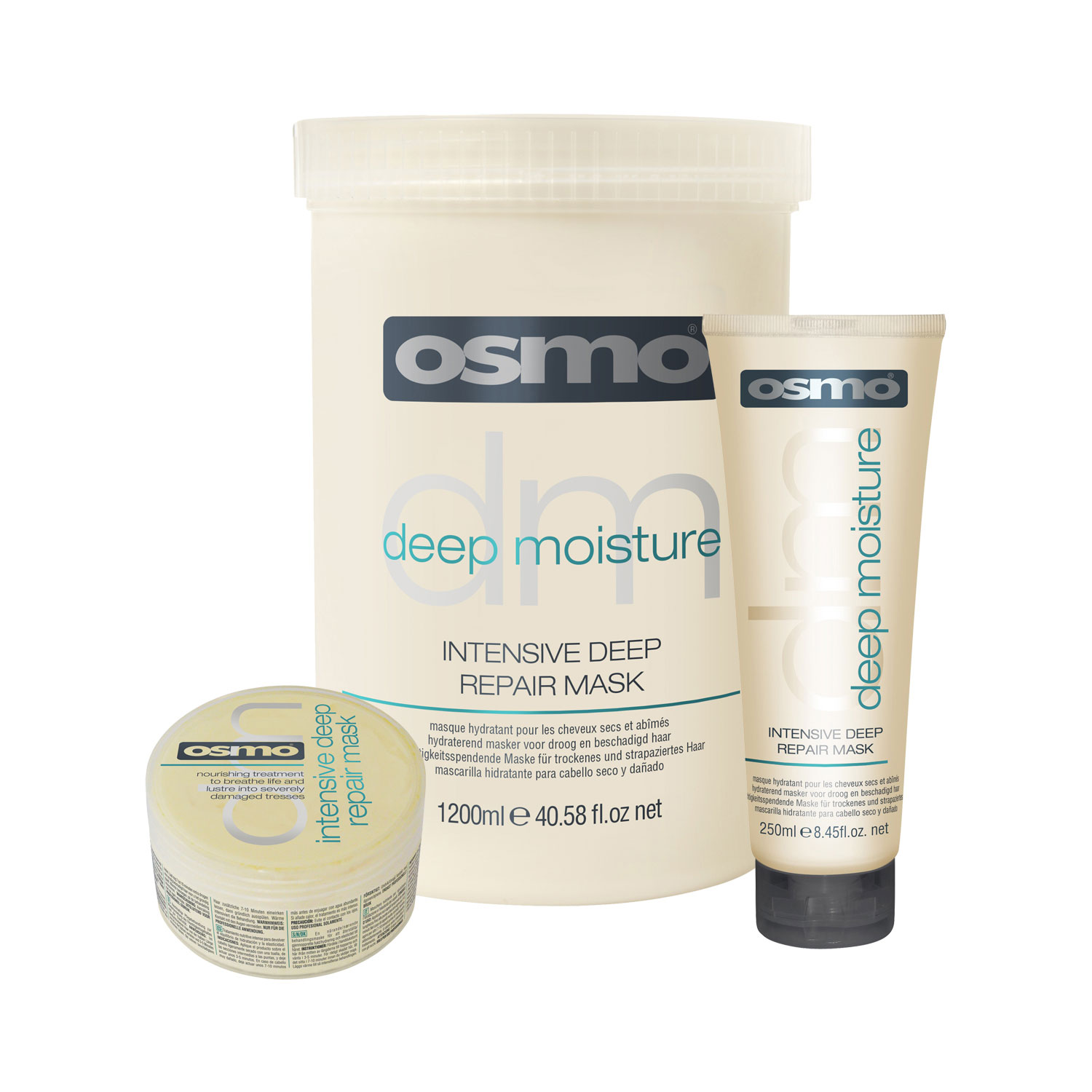 osmo intensive deep repair mask restores moisture elasticity for smooth hair. Black Bedroom Furniture Sets. Home Design Ideas