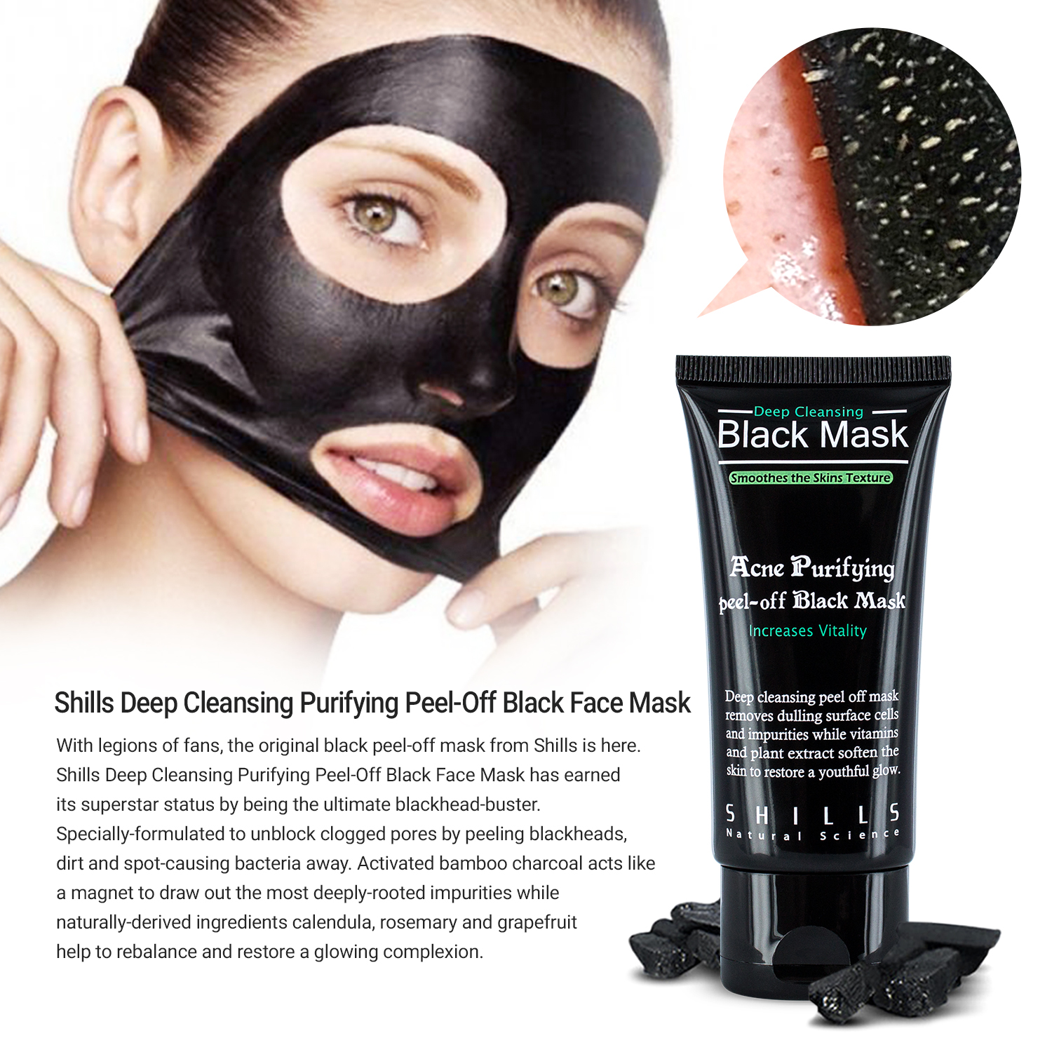 shills peel off mask