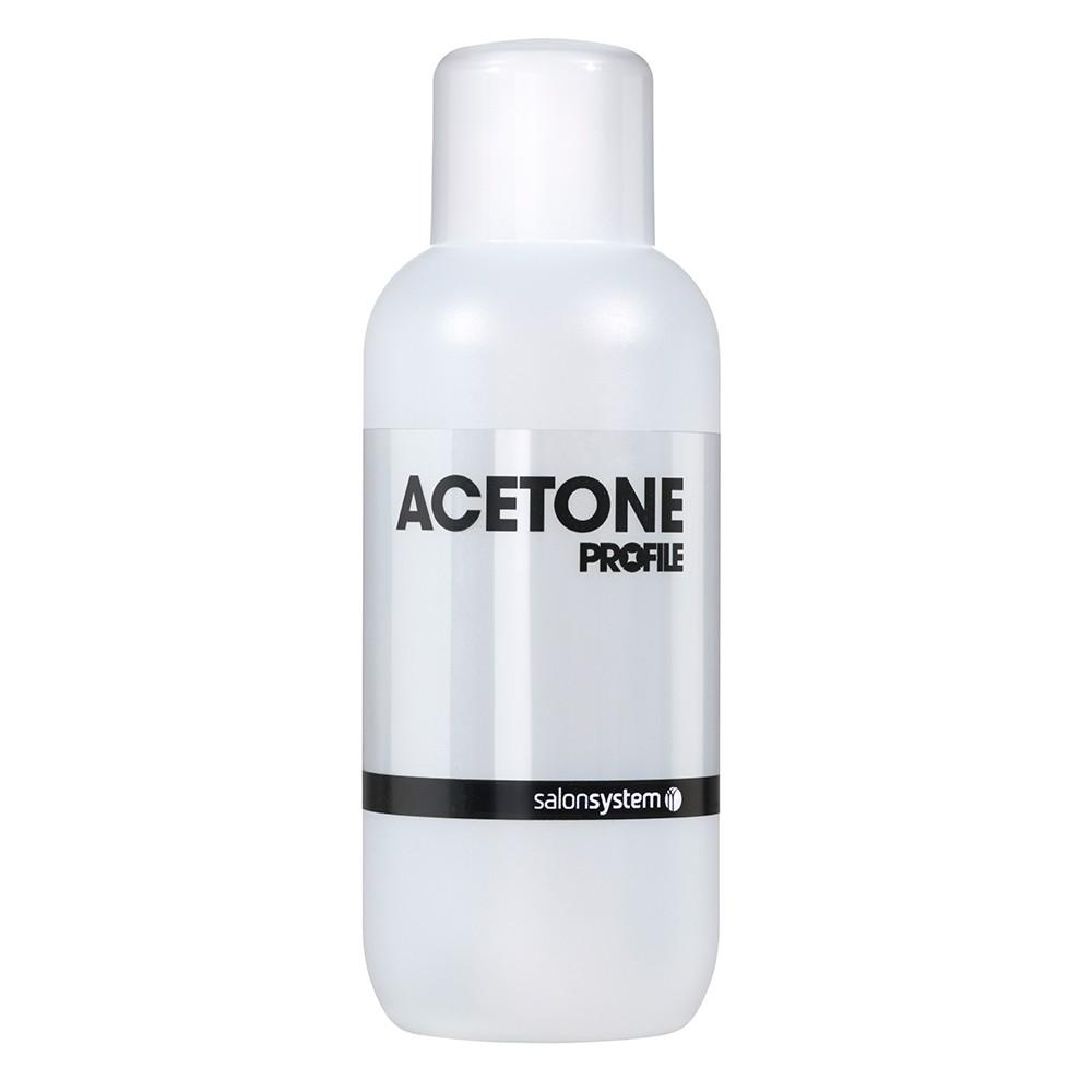 Salon System Profile Acetone Nail Polish Remover Cleanser