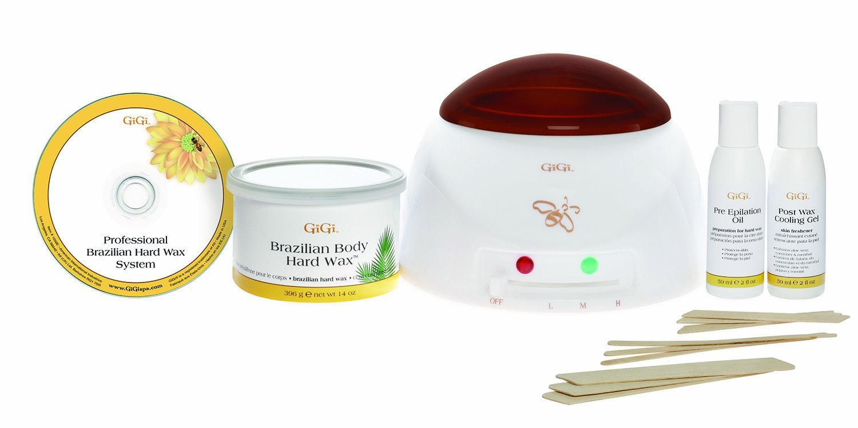 Gigi professional brazilian stripless waxing kit heater hard wax gigi professional brazilian stripless waxing kit heater hard wax spatulas dvd ebay solutioingenieria Image collections