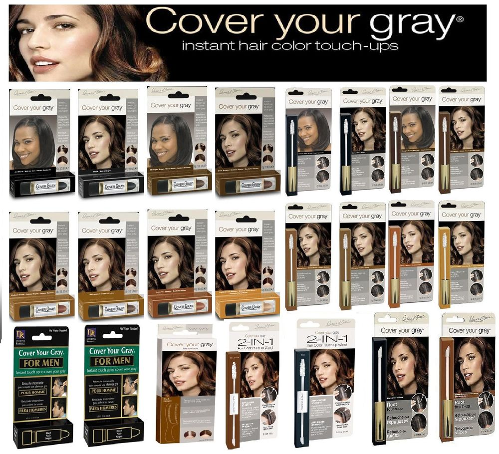 Cover Your Gray Hair Instant Colour All Types Colours Men Women