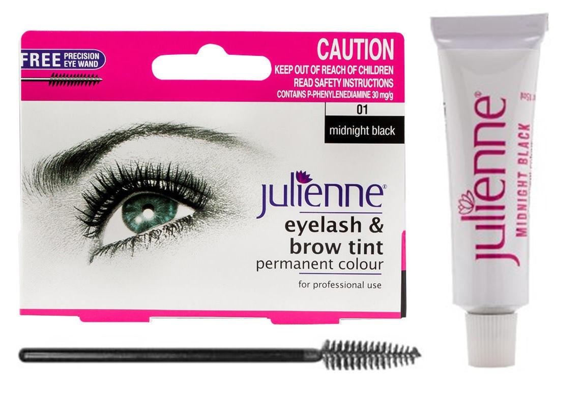 Julienne Professional Tinting Eyelash & Eyebrow Dye Tint ...