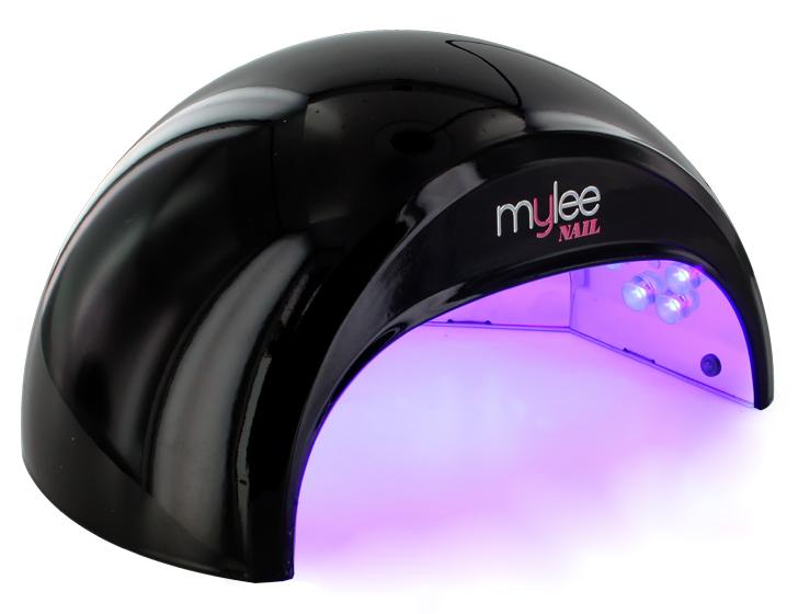 Salon System Gellux Gel Starter Kit + MYLEE Black LED Nail Lamp | eBay