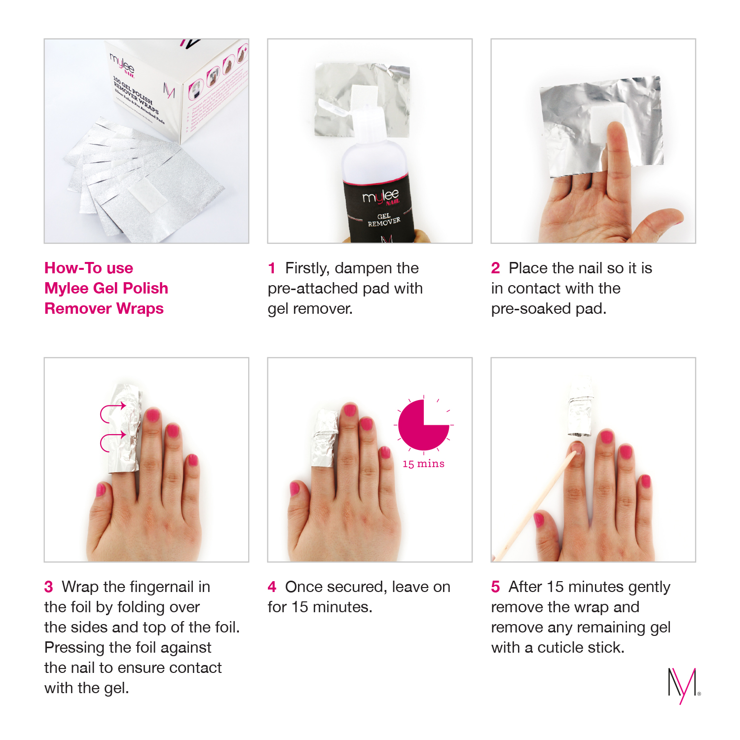 how to get nails off with acetone