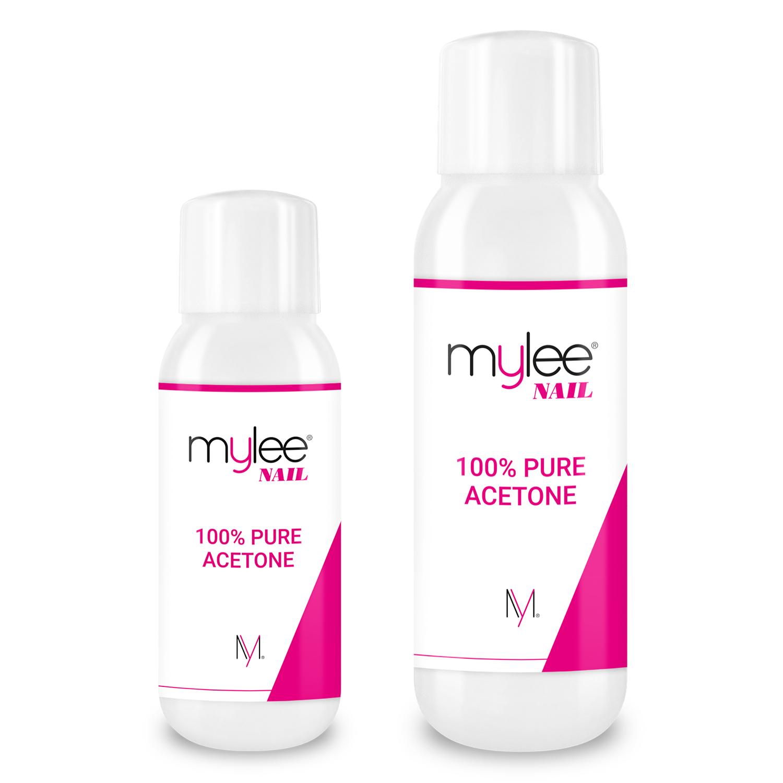 Mylee 100 Pure Acetone Superior Quality Nail Polish Remover Uv Led Gel Soak Off Ebay