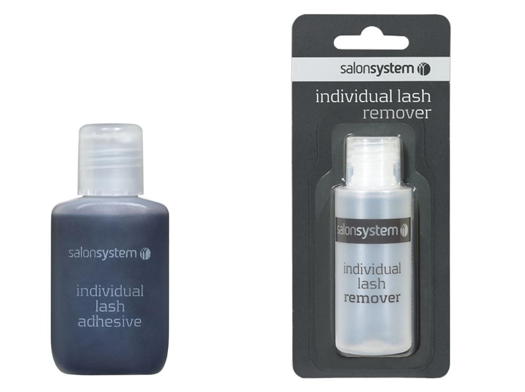 Salon System Individual Eyelash Adhesive Black Glue 15ml ...
